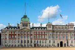 LONDRES - 3 NOVEMBRE : Vieux défilé de gardes de cheval de bâtiment d'Amirauté Photo stock
