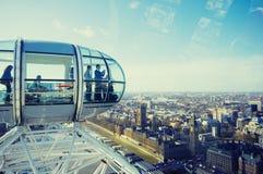 Londres - olho de Londres imagens de stock royalty free