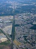 Londres Ontario, aéreo Imagen de archivo