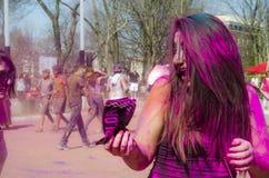 Londres Ontario, Canada - 16 avril : Portrait de non identifié vous Photographie stock libre de droits