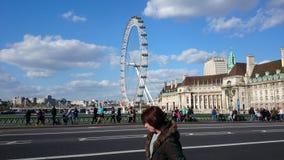 Londres panorâmico fotografia de stock
