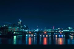 Londres par Night image libre de droits