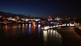 Londres par Night photo stock