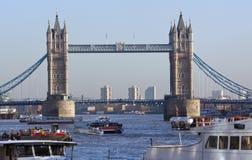 Londres - passerelle de tour - l'Angleterre Images libres de droits