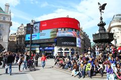 Londres Piccadilly Foto de Stock