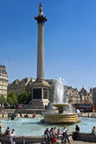 Londres - place trafalgar Photo stock