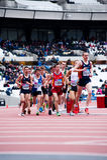 Londres prepara-se: Eventos olímpicos do teste Fotografia de Stock