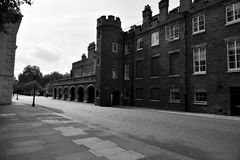 Londres preto e branco Fotografia de Stock