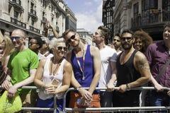 Londres Pride March, el 27 de junio de 2015 Foto de archivo