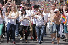 Londres Pride Parade 2013 Fotografia de Stock
