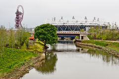 Londres prépare : Événements olympiques d'essai Photo stock