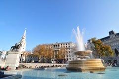 Londres, quadrado de Trafalgar imagens de stock royalty free