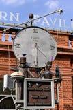 LONDRES, R-U - 28 AOÛT : Horloge de zoo de Londres à Londres le 28 août Images stock