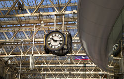 LONDRES, R-U - 14 mai 2014 - station d'international de Waterloo Image stock