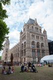 LONDRES, R-U, musée d'histoire naturelle Images libres de droits