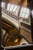 LONDRES, R-U, musée d'histoire naturelle Photographie stock