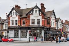 Londres, R-U - vers en mars 2012 : Vieux Chambres, bars et restaurants historiques à Greenwich, Londres Photographie stock