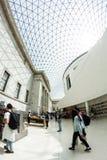 29 07 2015, LONDRES, R-U - vue de British Museum et détails Photo libre de droits