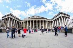 29 07 2015, LONDRES, R-U - vue de British Museum et détails Photo stock
