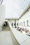 29 07 2015, LONDRES, R-U - vue de British Museum et détails Photos libres de droits