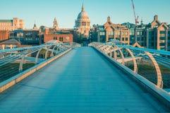 05/11/2017 Londres, R-U, vue de St Paul Cathedral images stock