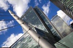 LONDRES, REINO UNIDO - CANARY WHARF, O 22 DE MARÇO DE 2014 Fotos de Stock