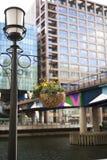 LONDRES, REINO UNIDO - CANARY WHARF, O 22 DE MARÇO DE 2014 Fotografia de Stock