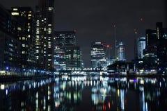 Londres Reino Unido 02/12/2017 A cidade dos líderes do banco de Europa Imagem de Stock