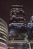 Londres Reino Unido 02/12/2017 A cidade dos líderes do banco de Europa Construção de HSBC Fotos de Stock Royalty Free