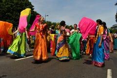 24/06/2018 Londres Reino Unido Colores preciosos en las calles Imagenes de archivo