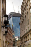 LONDRES, REINO UNIDO - 24 DE ABRIL DE 2014: Cidade de Londres uma dos centros principais da finança global, matrizes para bancos  Foto de Stock Royalty Free
