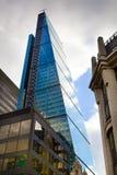 LONDRES, REINO UNIDO - 24 DE ABRIL DE 2014: Ciudad de Londres uno de los centros principales de las finanzas globales, jefaturas  Foto de archivo