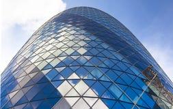 LONDRES, REINO UNIDO - 24 DE ABRIL DE 2014: Edificio del pepinillo Imagenes de archivo