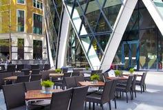 LONDRES, REINO UNIDO - 24 DE ABRIL DE 2014: Edificio del pepinillo Fotografía de archivo