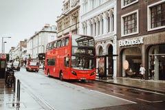 Londres, Reino Unido - 18 de agosto de 2017: As ruas de Londres Imagens de Stock Royalty Free