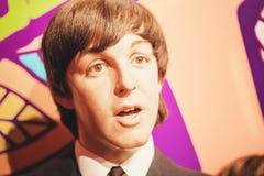 Londres, Reino Unido - 24 de agosto de 2017: El Beatles en señora fotografía de archivo
