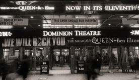 Teatro de Londres, teatro da autoridade fotografia de stock