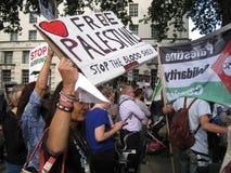 """Londres Reino Unido - 5 de junio de 2018: La gente en el †libre de Palestina """"para Fotos de archivo libres de regalías"""