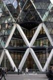 Londres, Reino Unido - 30 de outubro de 2017:- o Gerkin Fotografia de Stock Royalty Free
