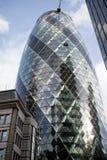 Londres, Reino Unido - 30 de outubro de 2017:- o Gerkin Imagens de Stock