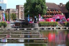 Londres, Reino Unido. 1º de setembro de 2013. A tosquiadeira em volta do mundo Yac Foto de Stock
