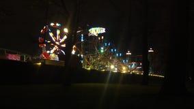 Londres, Reino Unido - diciembre, 16 : Hyde Park, Winterwonderland almacen de video
