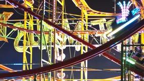 Londres, Reino Unido - diciembre, 16 : Hyde Park, Winterwonderland almacen de metraje de vídeo