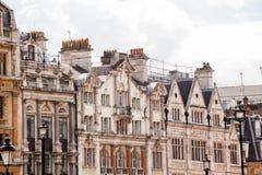 LONDRES, Reino Unido - escenas urbanas del paisaje y de la calle Foto de archivo libre de regalías