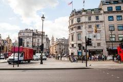 LONDRES, Reino Unido - escenas urbanas del paisaje y de la calle Fotografía de archivo libre de regalías