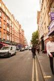 LONDRES, Reino Unido - escenas urbanas del paisaje y de la calle Fotos de archivo