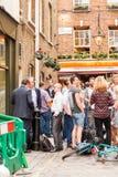 LONDRES, Reino Unido - escenas urbanas del paisaje y de la calle Imágenes de archivo libres de regalías