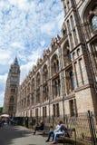 LONDRES, Reino Unido, museo de la historia natural Imagen de archivo libre de regalías