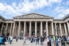 29 07 2015, LONDRES, Reino Unido - opinião de British Museum e detalhes Imagem de Stock
