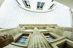 29 07 2015, LONDRES, Reino Unido - opinião de British Museum e detalhes Imagens de Stock